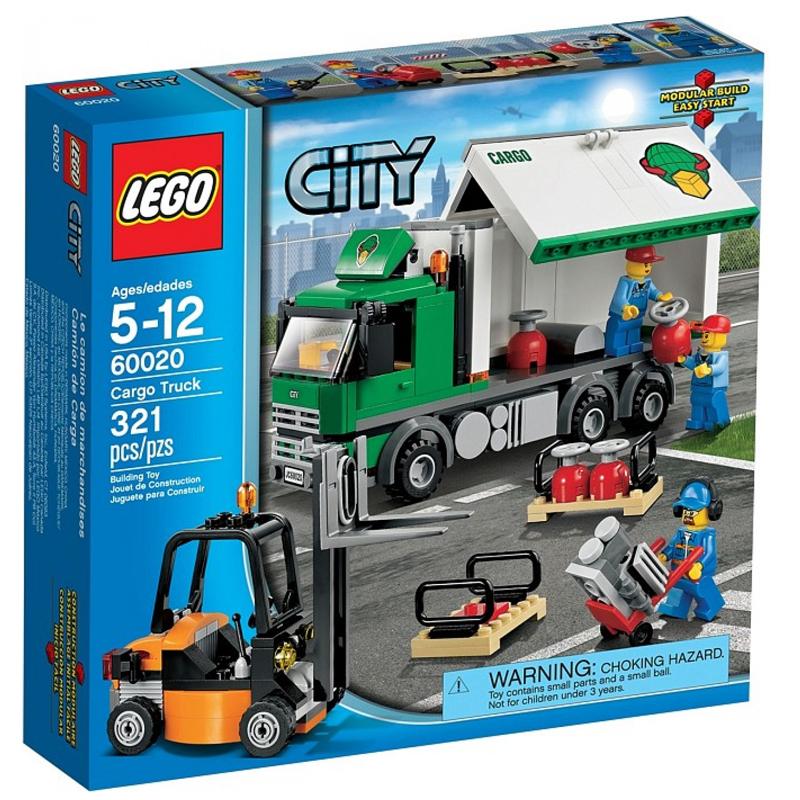 LEGO City 60020 - Bo xep hinh xe tai cho hang