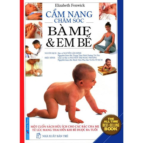 Cam nang cham soc ba me va em be (bia cung) -Nguyen Lan Dinh