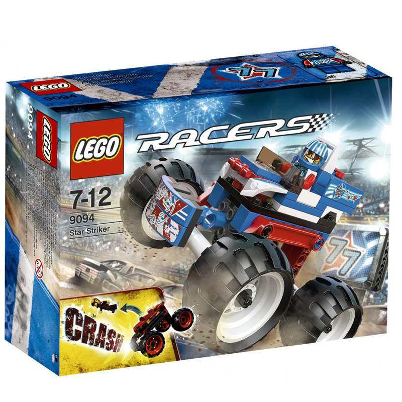 Do choi LEGO 9094 xep hinh Racers Star Striker