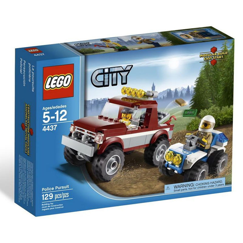 Do choi LEGO City 4437 - Cuoc truy duoi ten cuop