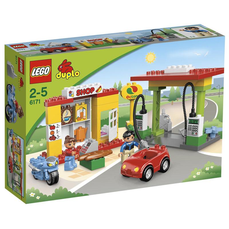 Do choi Lego Duplo 6171 - Tram nhien lieu