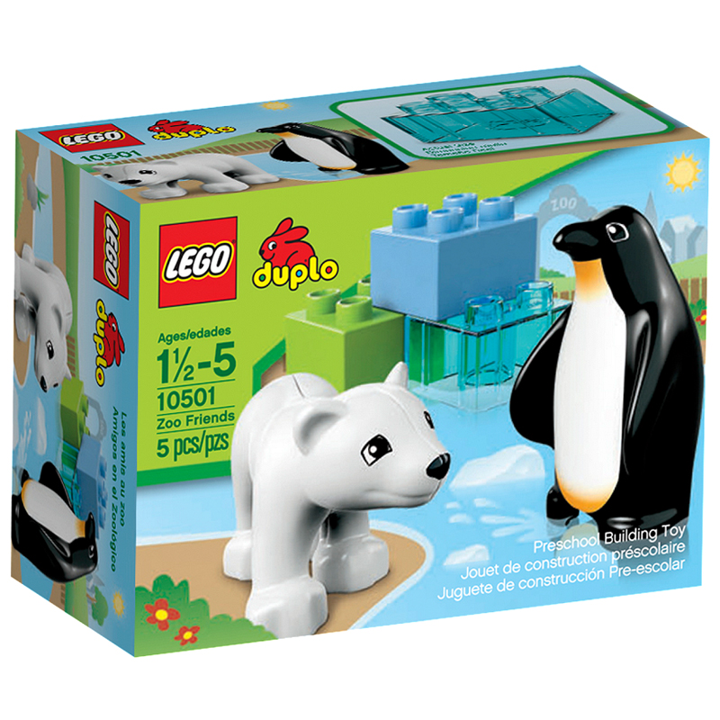 LEGO 10501 Zoo Friends (Doi ban thu dang yeu)