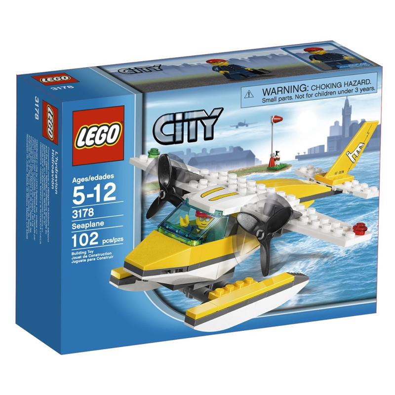 LEGO 3178 City - Xep hinh Thuy phi co