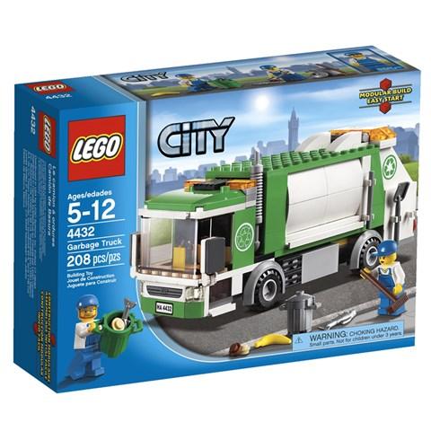 LEGO 4432 City - Do choi xep hinh xe do rac