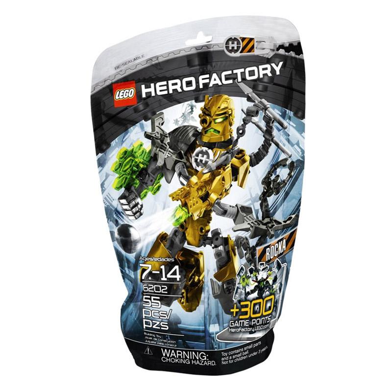LEGO 6202 xep hinh Hero Factory Rocka V29