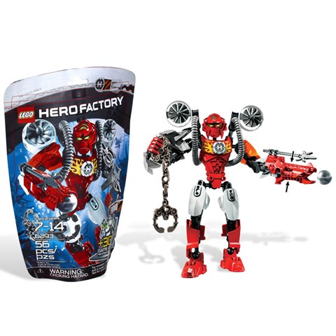 LEGO 6293 Hero Factory - Bo xep hinh anh hung Furno V29