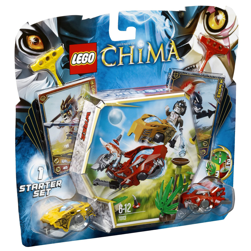 LEGO 70113 Legends of Chima Starter Set