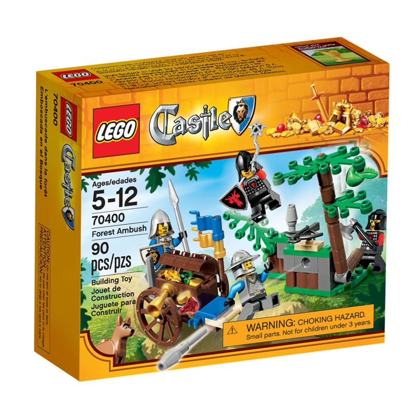 LEGO 70400 Castle - Cuoc phuc kich trong rung