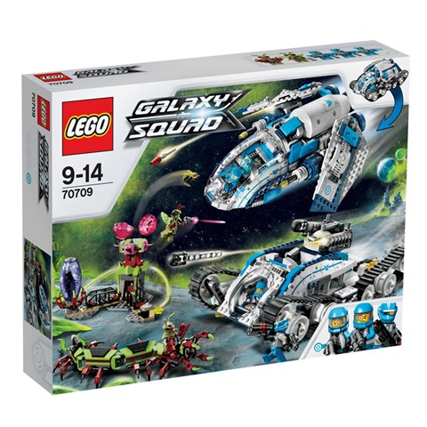 LEGO 70709 Galaxy Squad - Xep hinh thien than Titan