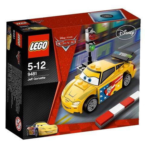 LEGO 9481 Racer - Bo xep hinh xe Jeff Gorvette