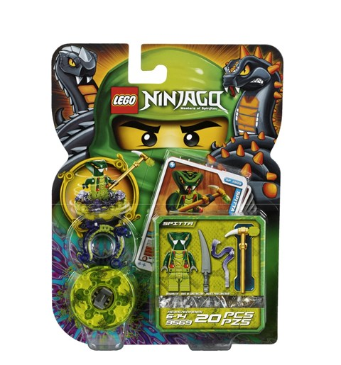 LEGO 9569 - Xep hinh nguoi ran Spitta