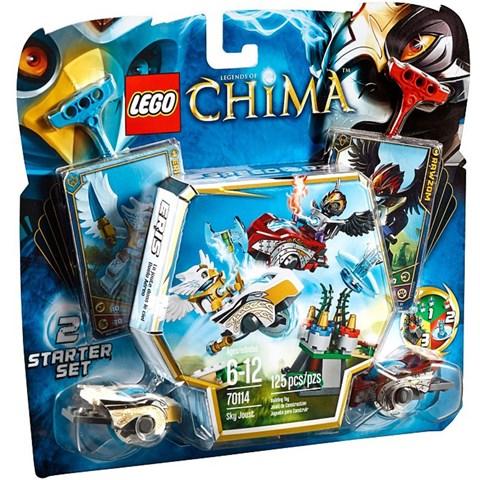 Lego chima 70114 - Tran chien tren khong