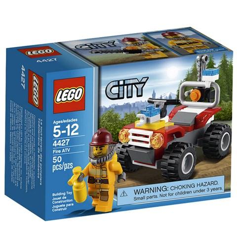 LEGO City 4427 - Do choi xep hinh xe Moto dia hinh cuu hoa