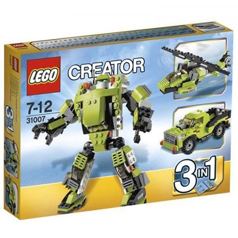 LEGO Creator 31007 - Xep hinh Robot bien hinh