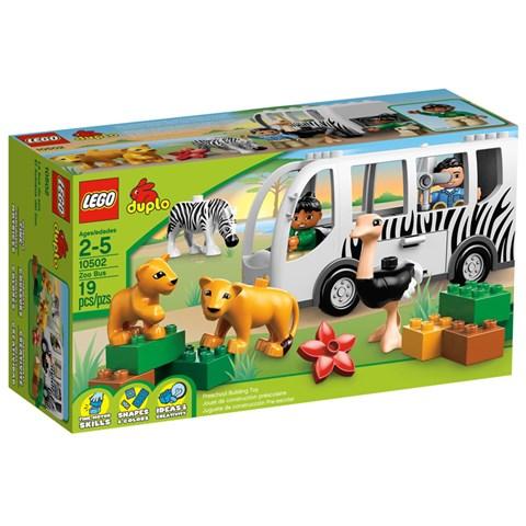 LEGO Duplo 10502 - Do choi xep hinh xe bus so thu