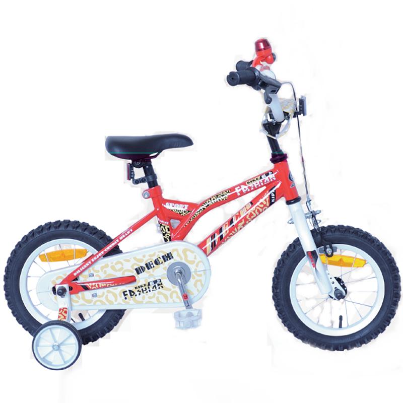 Xe đạp trẻ em DECH 1324 trắng đỏ