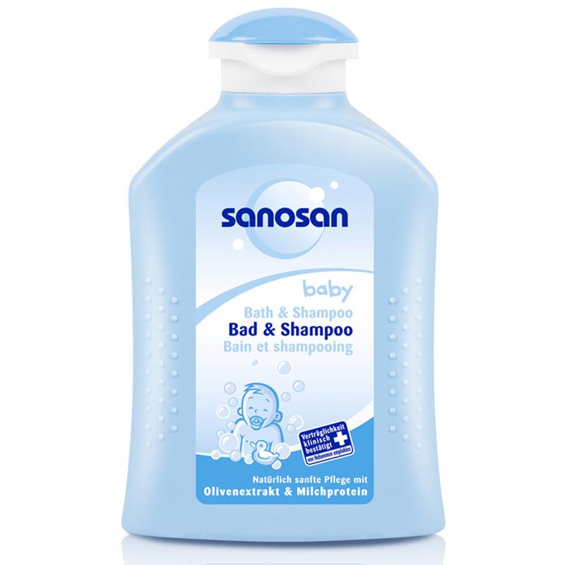 Dau goi dau cho be Sanosan baby Shampoo 200ml