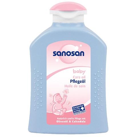 Tinh dau duong da cho be Sanosan Baby care oil 200ml