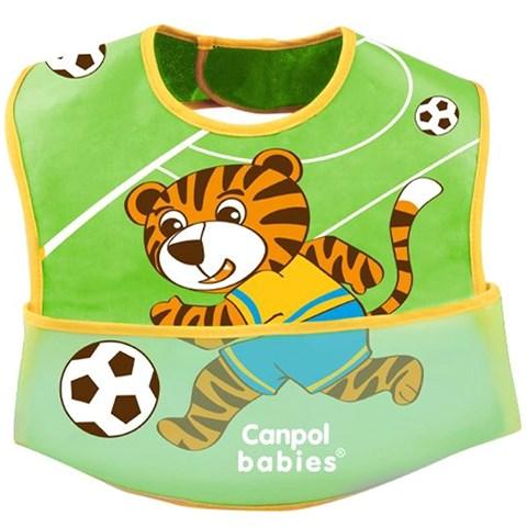 Yem an cho be Canpol cotton hinh cau thu