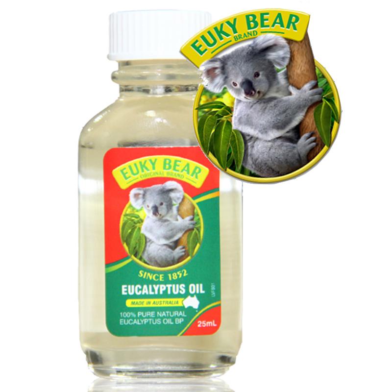 Dau Khuynh Diep Euky Bear 25ml (ban tai TP.HCM)