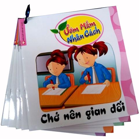 Bo sach Cho nen gian doi - Uom mam nhan cach