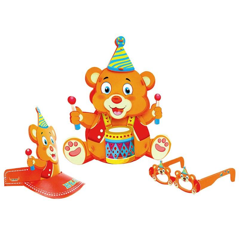 Đèn lồng Kibu - Gấu đánh trống