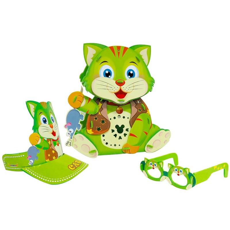 Đèn lồng Kibu - Mèo bắt chuột