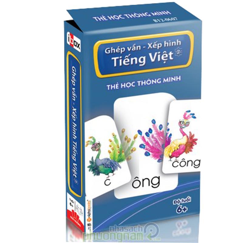 Flash Card: The hoc thong minh - Ghep van - Xep hinh Tieng Viet 2