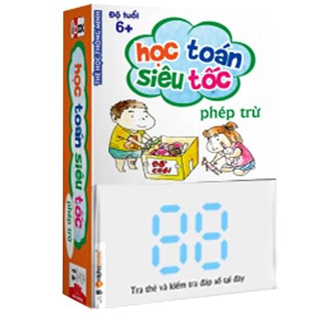 The hoc thong minh - Phep Tru (Do tuoi 6+)