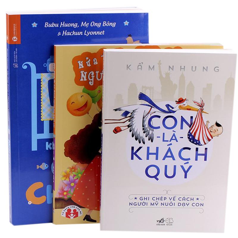 Tron bo Con la khach quy + Nuoi con khong phai cuoc chien + Nua tieng tro thanh ba me tuyet voi