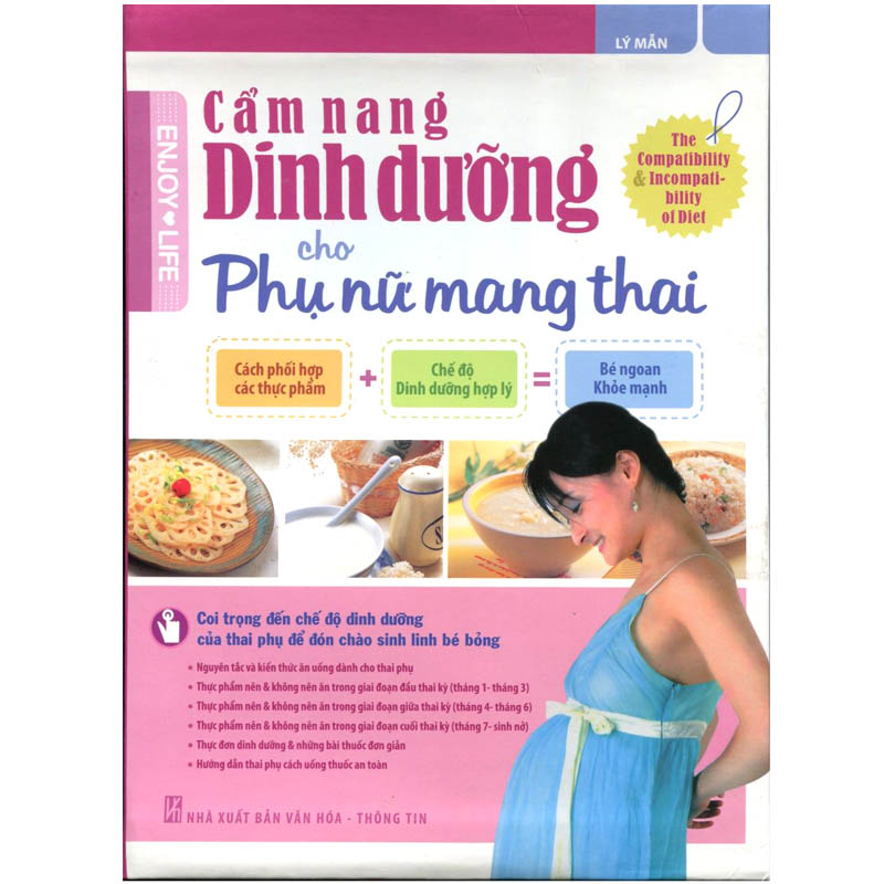 Cam nang dinh duong cho phu nu mang thai