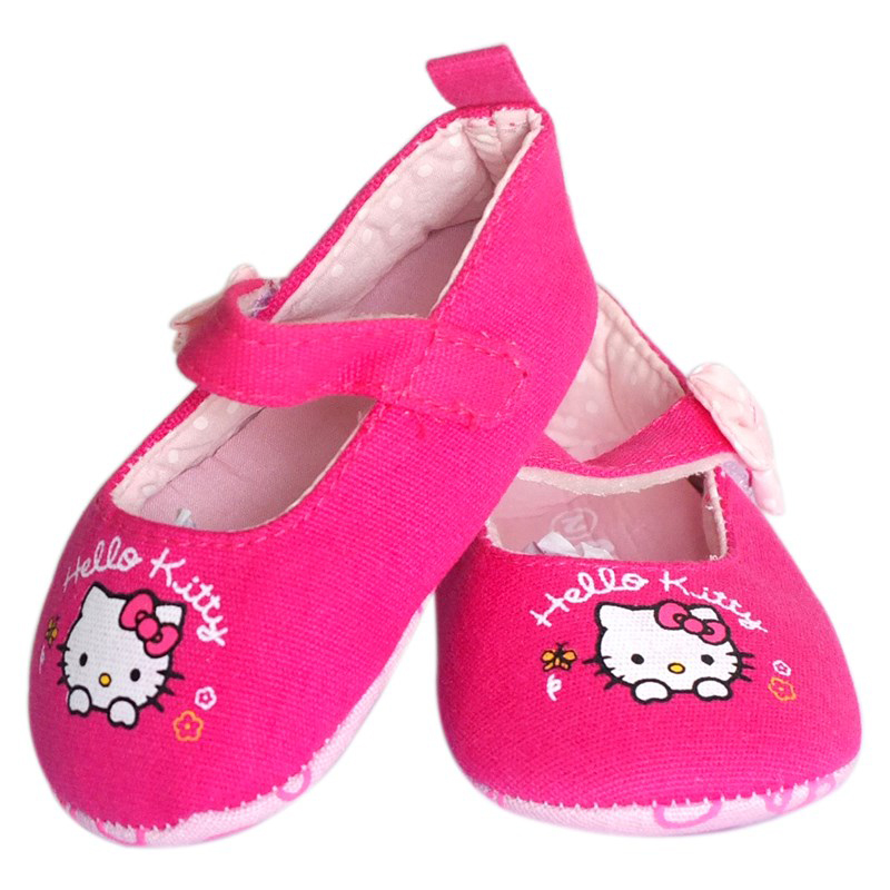 Giay tap di Hello Kitty danh cho be tu 6 - 9 thang tuoi