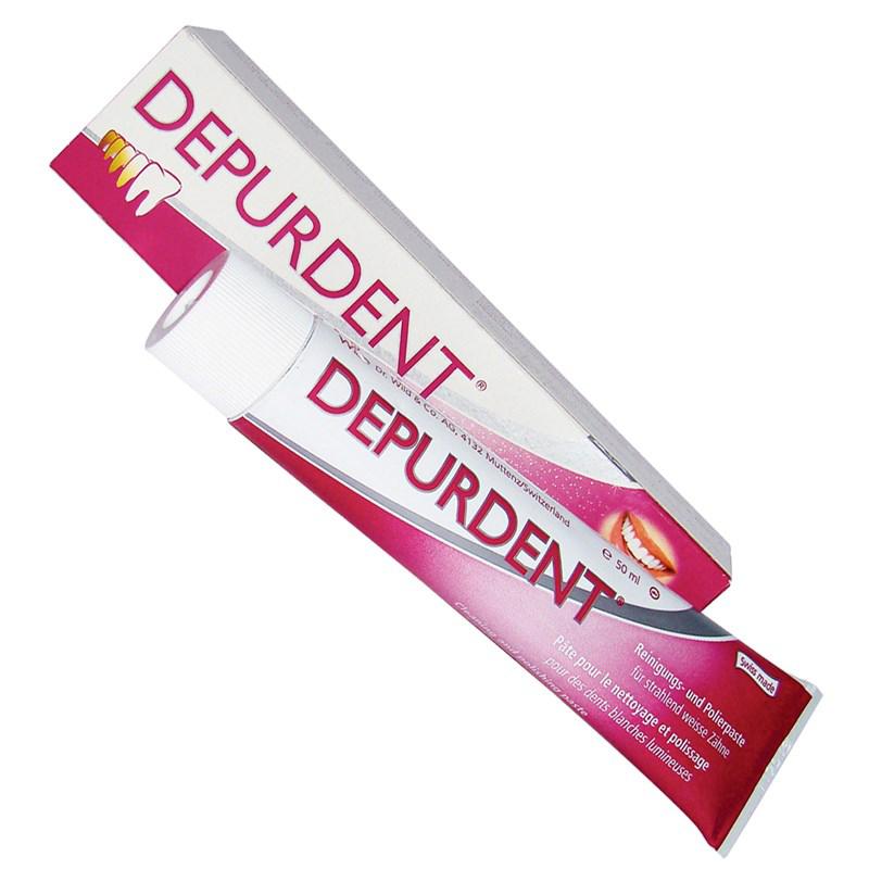 Kem danh rang Depurdent® lam trang rang loai bo cao rang