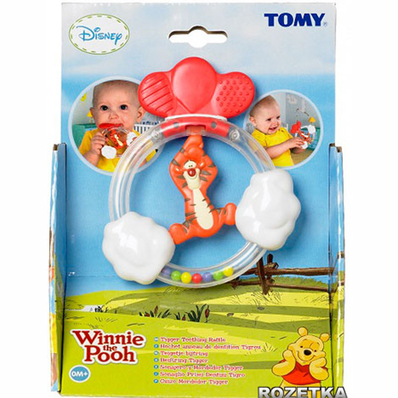 Do choi Tomy 71869 - Pooh Rattle Tiger