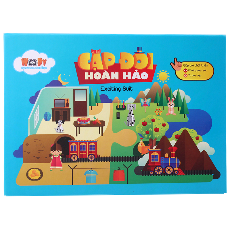 Tranh ghep go - Cap doi hoan hao