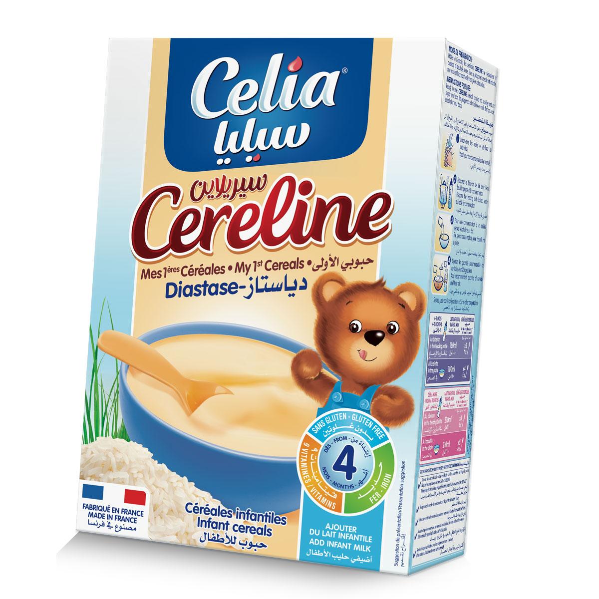 Bot ngu coc tieu hoa Celia cho be 4 thang tro len