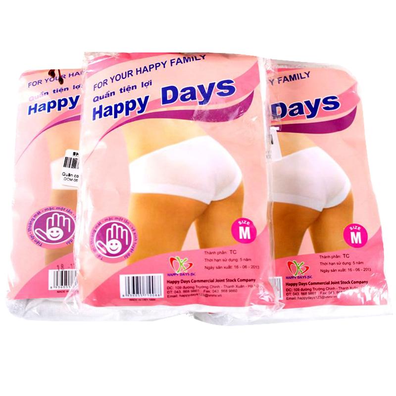 quan lot cotton happydays dung mot lan