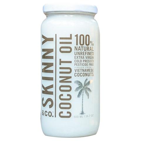 tinh dau dua nguyen chat skinny coconut oil-my