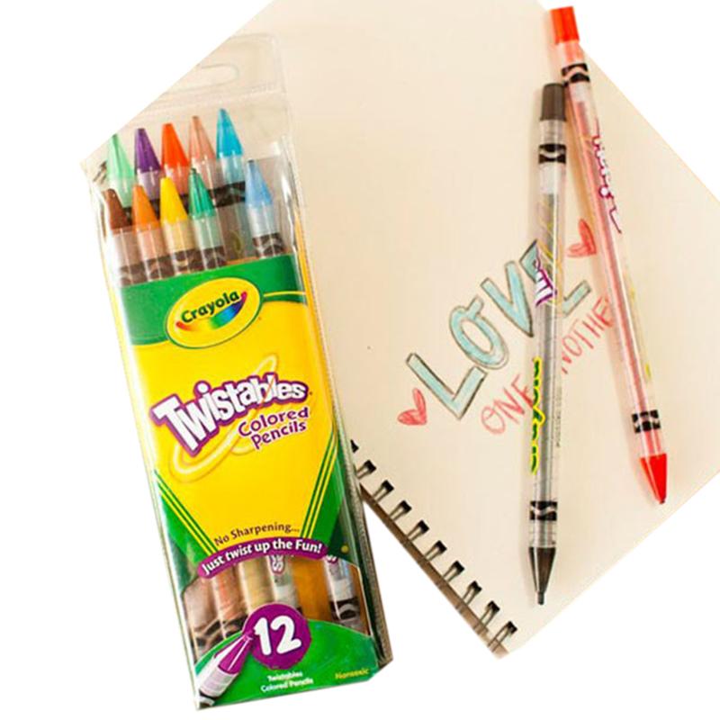 but chi dang van 12 mau crayola 687408q000