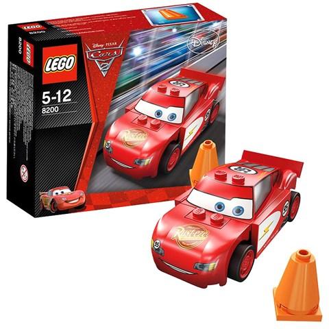 lego 8200 racers bo xep hinh xe lightning mcqueen