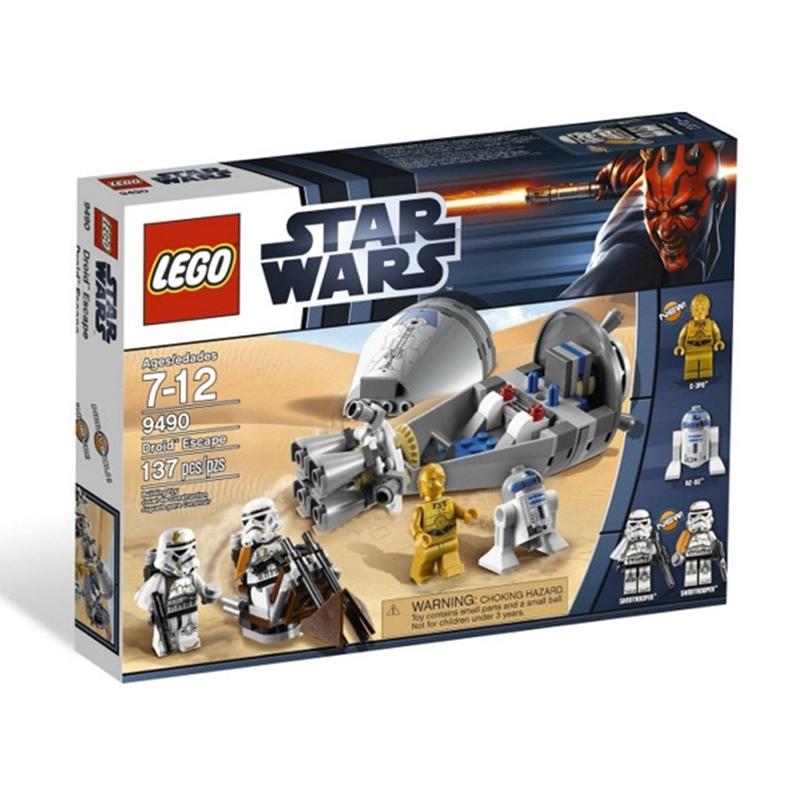 do choi lego star wars 9490 cuoc tau thoat ngoai nguc