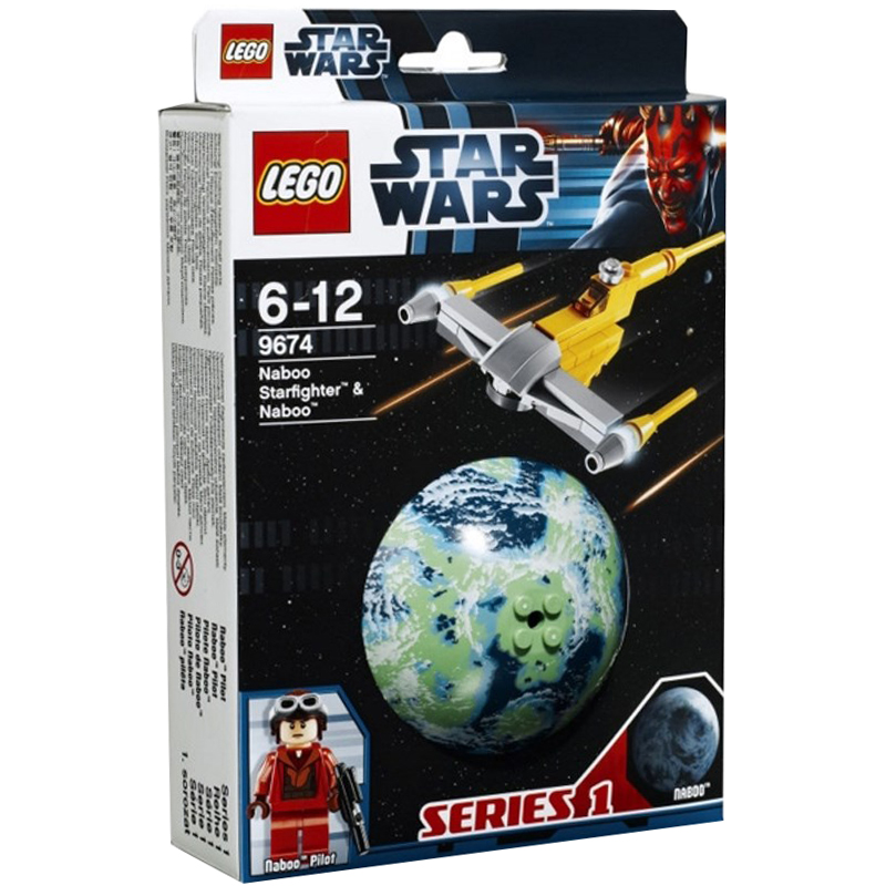 do choi lego star wars 9674 may bay chien dau va hanh tinh naboo