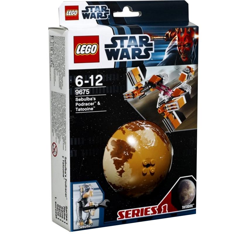 do choi lego star wars 9675 phi thuyen cua sebulba va hanh tinh tatooine