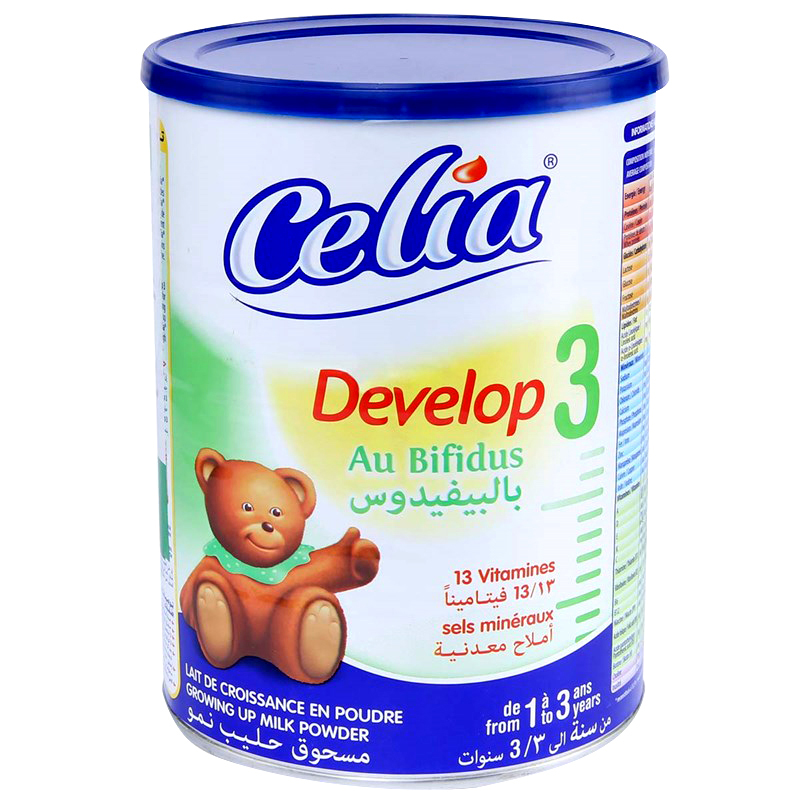 sua bot cho be celia develop so 3 loai 400g