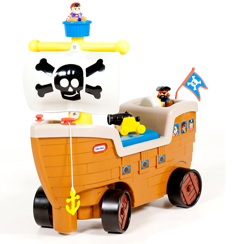Xe choi chan mo hinh tau cuop bien Play 'n Scoot™ Pirate Ship - Little Tikes622113MP