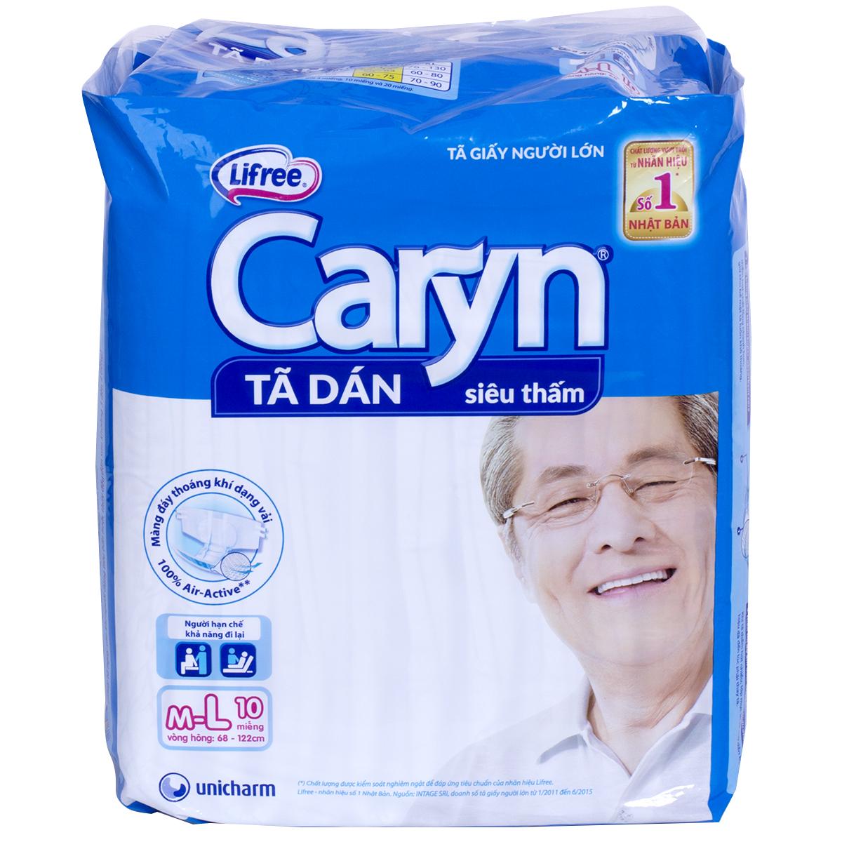 Ta giay nguoi lon Caryn
