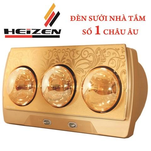 Den suoi phong tam Heizen 3 bong HE-3B