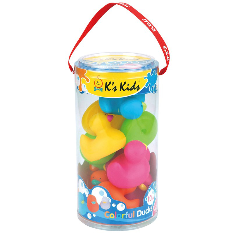 Bo do choi bon tam hinh chu vit Colorful Bathing Duck K's kids KA10554-PB