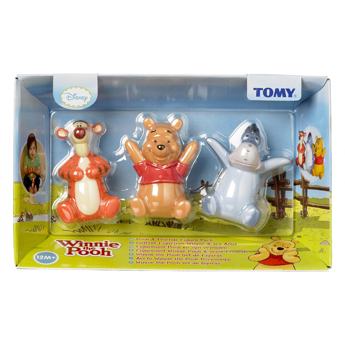 Do choi cho be Pooh Figure Pack