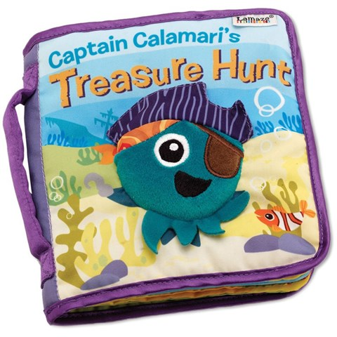 Sach vai Lamaze LC27902 Treasure Hunt Captain Calamari's